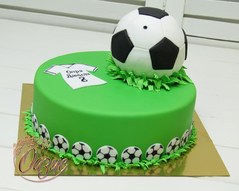 Торт в форме футбольного мяча своими руками 100