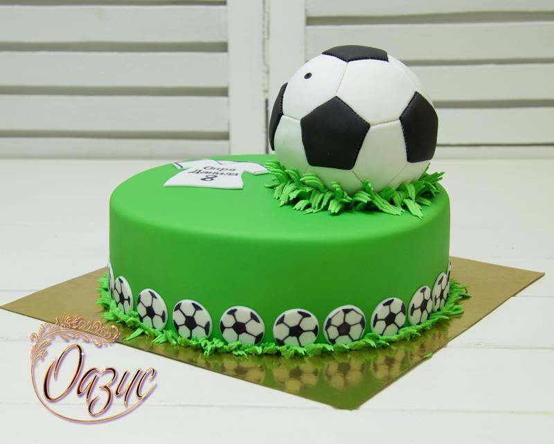 Как сделать торт футбольный мяч своими руками 60