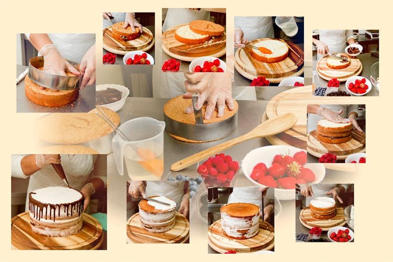 Процесс изготовления торта - фото 2